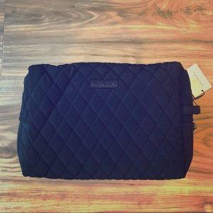 Vera Bradley Large Cosmetic Bag ~ Classic Black